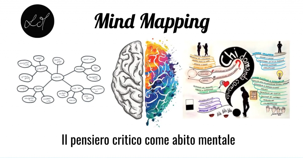 Mind mapping foto cervello